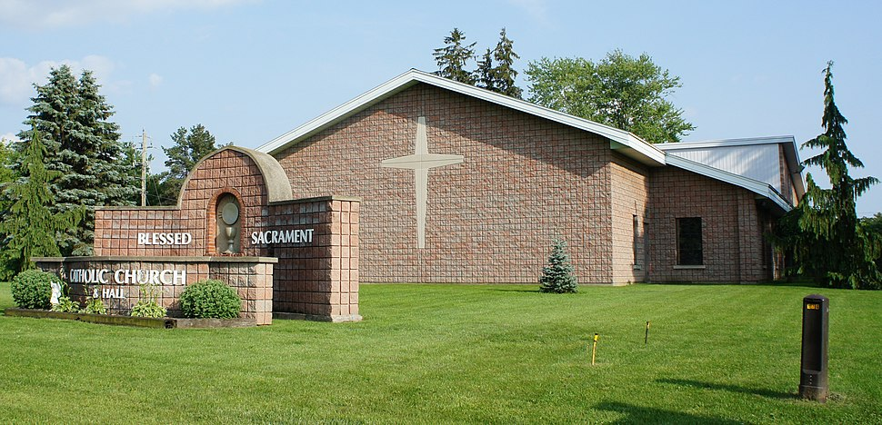 Blessed Sacrament Church Burford Ont
