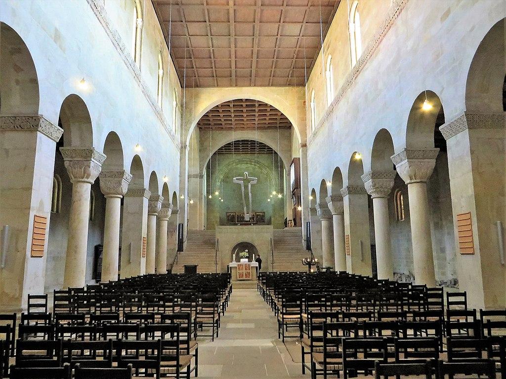 Blick zum Altar St. Servatius (Quedlinburg)
