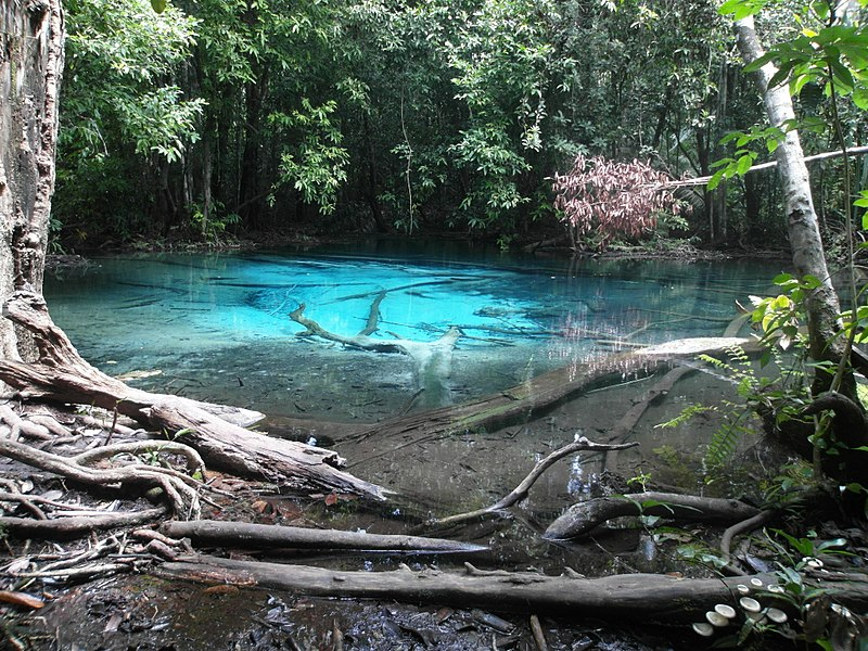 File:Blue Pool at Khao Phra Bang Khram Nature Reserve, near Krabi (Thailand) - panoramio.jpg