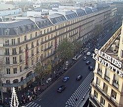 IXe Arrondissement French Municipal Boulevard Haussmann