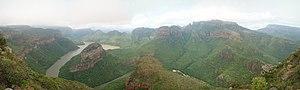 Blyde River Canyon - Image: Blyde River Canyon Panorama 2009
