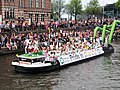 Boat 77 Partij voor de Dieren, Canal Parade Amsterdam 2017 foto 1, City Supplier ENI 02333584.JPG
