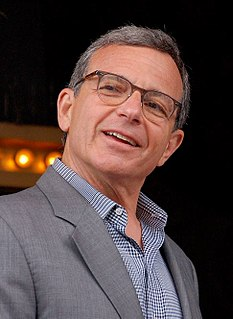 Bob Iger American businessman and CEO of The Walt Disney Company