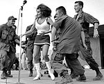 Bob Hope Show - Raquel Welsh on Stage Dec 67.jpg