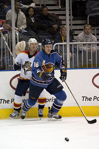 Bobby Holík - Bobby Holík as seen when he played with the Atlanta Thrashers