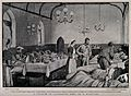 Boer War; a full military hospital ward housed in a church i Wellcome V0015593.jpg