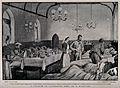 Boer War; a full military hospital ward housed in a church i Wellcome V0015593.jpg