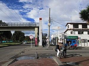 Calle 146 (TransMilenio) - Calle 146 station, exterior view
