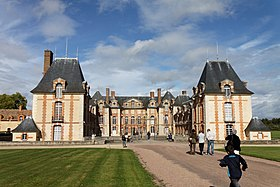 Le château de Grosbois, inscrit aux monumemts historiques