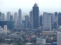 Bonifacio Global City - skyline shot from BSA Twin Towers Ortigas.jpg