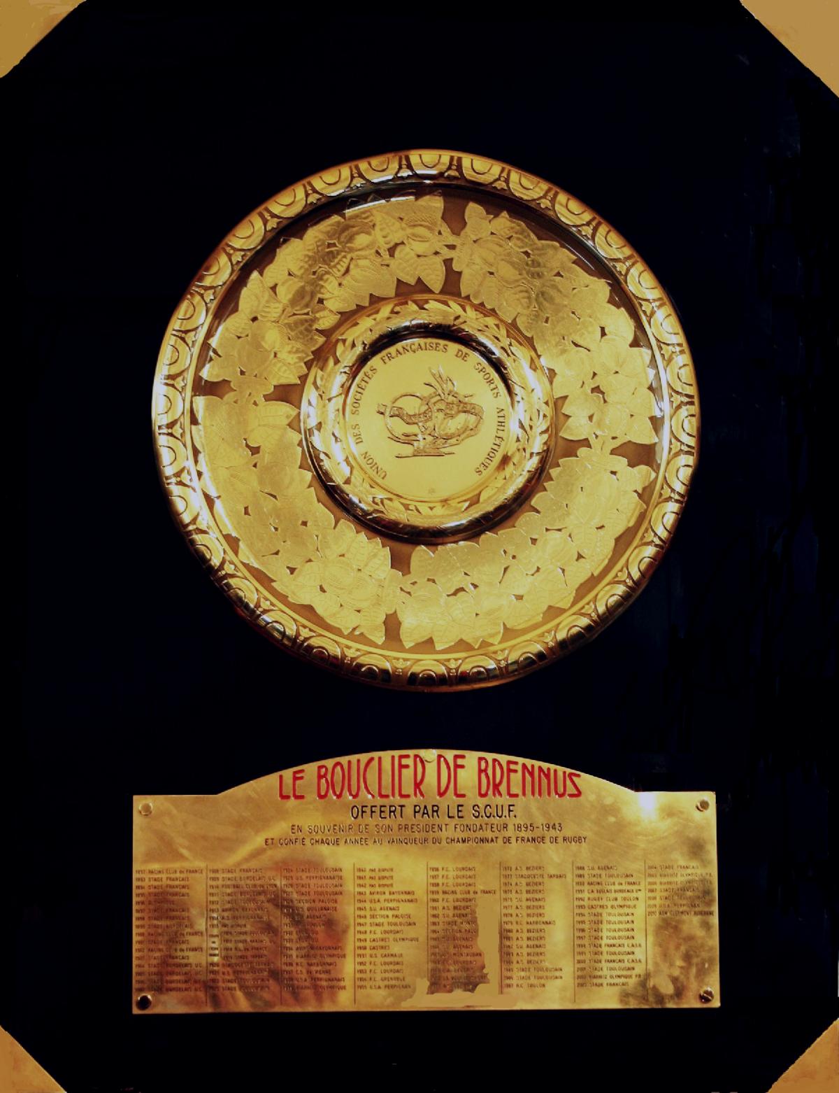 Bouclier de Brennus - Wikidata