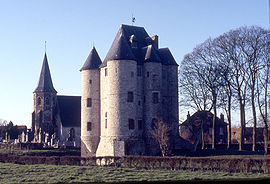 The château of Bours