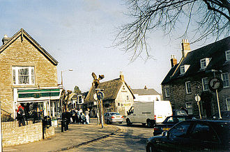 Brackley - The junction with Buckingham Road and High Street, Brackley in 2004