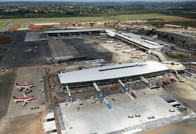 Image illustrative de l'article Aéroport international Presidente Juscelino Kubitschek