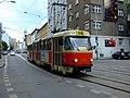 Bratislava, Staré Mesto, Špitálská, Tramvaj K2.jpg