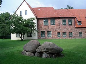 Bremervörde Castle - The rear of the old chancery building