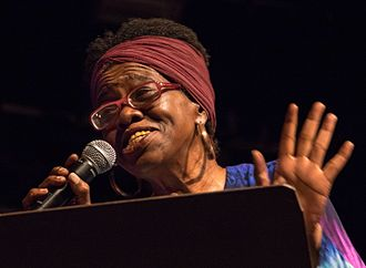 Zelt-Musik-Festival - Brenda Boykin a famous Jazz singer. 2015