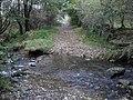 Bridleway ford near Rowarth - geograph.org.uk - 1011691.jpg