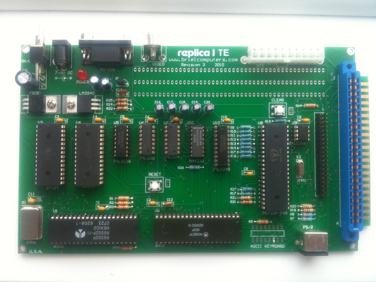 Replica 1 Wikipedia Gsm Modem Interface With 8051 Microcontroller