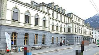 Brig railway station railway station in Switzerland