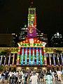 Brisbane City Hall light projection show 2018, 09.jpg