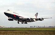 British Airways Boeing 747-100 Oldfield-1