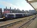 British Rail Class 170, Harrogate railway station (19th April 2019) 003.jpg