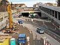 Brno, Žabovřesky, Žabovřeská, stavba tunelu (02).jpg