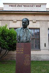 Bust of Viktor Kaplan
