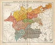 Brockhaus 1894 Deutsche Mundarten