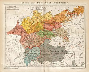 Sudeten Germans - German dialects with overlaps to Sudeten