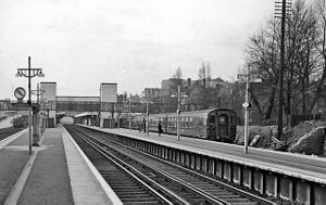 Bromley South railway station - Bromley South in 1961