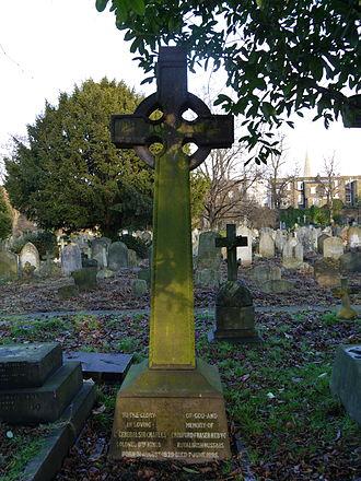 Charles Craufurd Fraser - Funerary monument, Brompton Cemetery, London