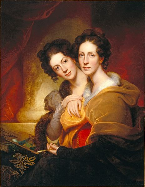 File:Brooklyn Museum - The Sisters (Eleanor and Rosalba Peale) - Rembrandt Peale - overall.jpg
