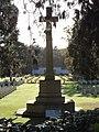 Brookwood Military Cemetery WWI Cross of Sacrifice (rear) 1.jpg