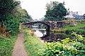 Brown Bank Bridge, Rochdale Canal, Littleborough - geograph.org.uk - 840542.jpg