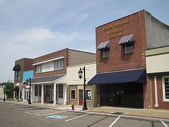 Brownsville, Tennessee - Brownsville business district