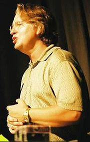 Bruce Sterling at the Open Cultures conference (5 June 2003)