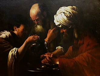 Lublin Museum - Image: Brugghen Pilate washing his hands