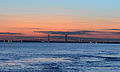 Brunswick River and Sidney Lanier Bridge, Georgia, USA.JPG