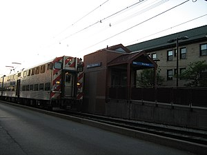 Highliner - A second generation Nippon Sharyo Highliner on Metra Electric at Bryn Mawr.