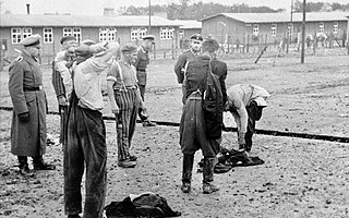 Buchenwald concentration camp Nazi concentration camp in Germany