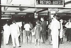 Constitución (Line C Buenos Aires Underground) - Image: Buenos Aires Subte Combinación en Constitución
