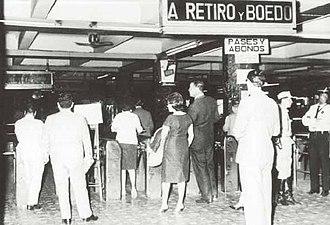Line E (Buenos Aires Underground) - Image: Buenos Aires Subte Combinación en Constitución
