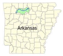 Ponca Arkansas Map.Buffalo National River Wikipedia