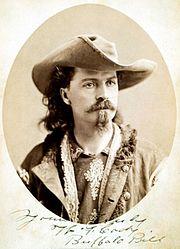 Buffalo Bill Cody ca1875