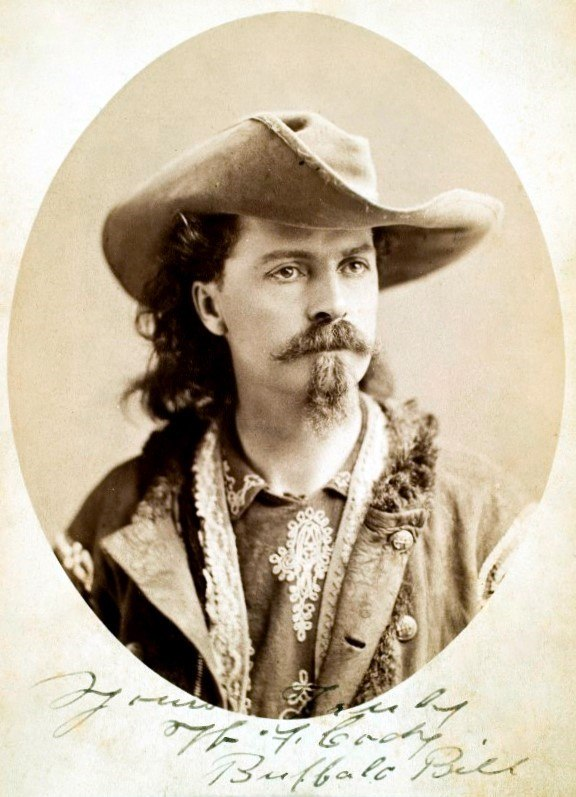 Buffalo Bill Cody ca1875