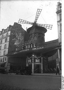 Una immagine del Moulin Rouge del 1929