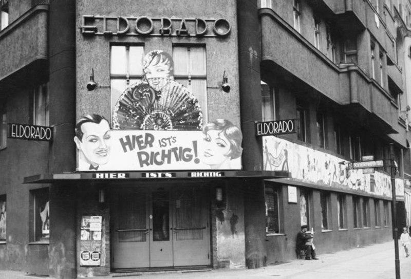 """Bundesarchiv Bild 183-1983-0121-500, Berlin, Bar """"Eldorado"""""""