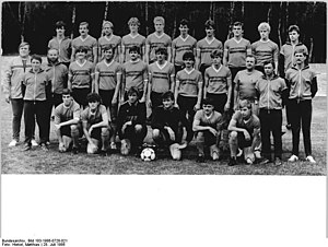 Bischofswerdaer FV 08 - The 1985–86 DDR-Liga championship-winning team